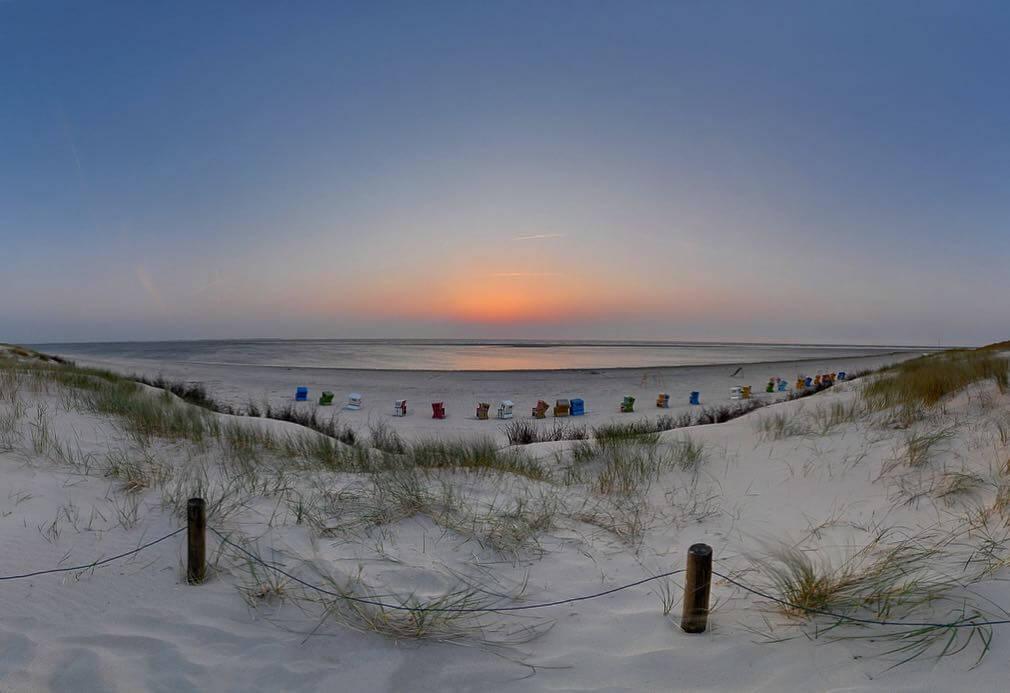Sunset Langeoog