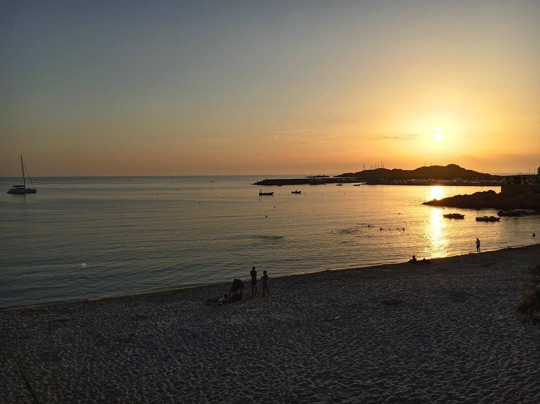 Sunset Isola Rossa